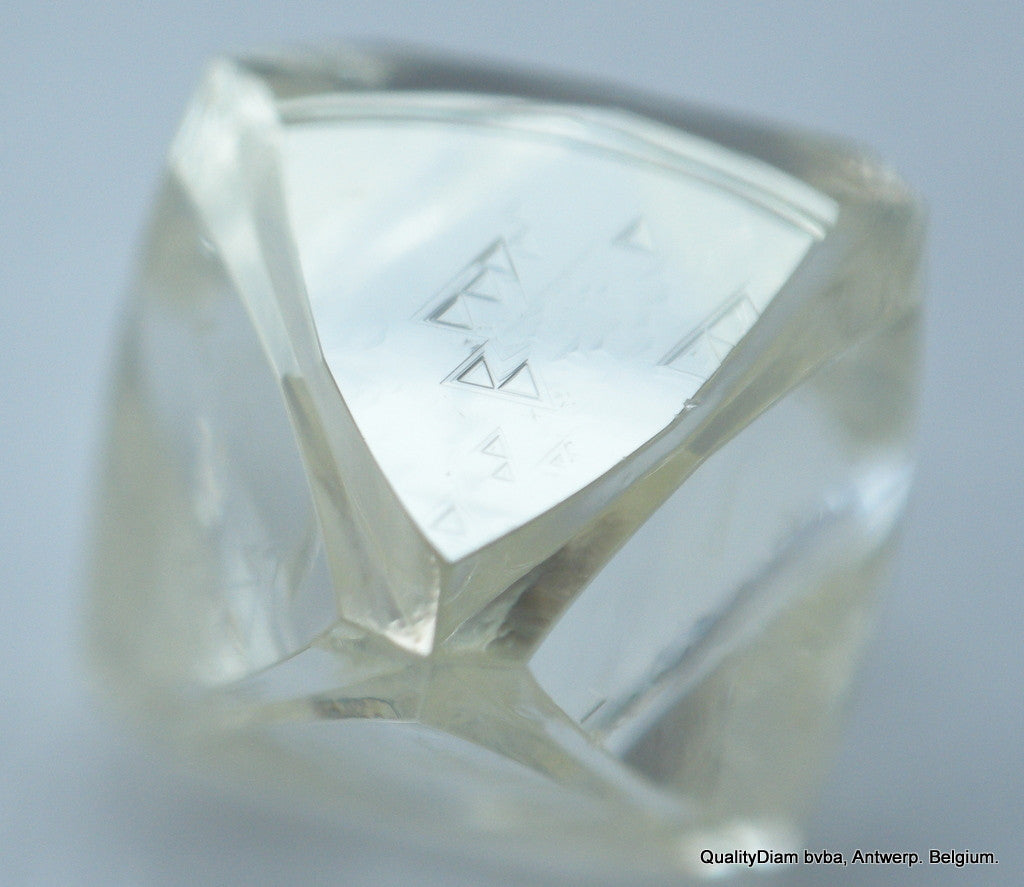 For rough diamond jewelry, 1.21 carat octahedron shape natural diamond.