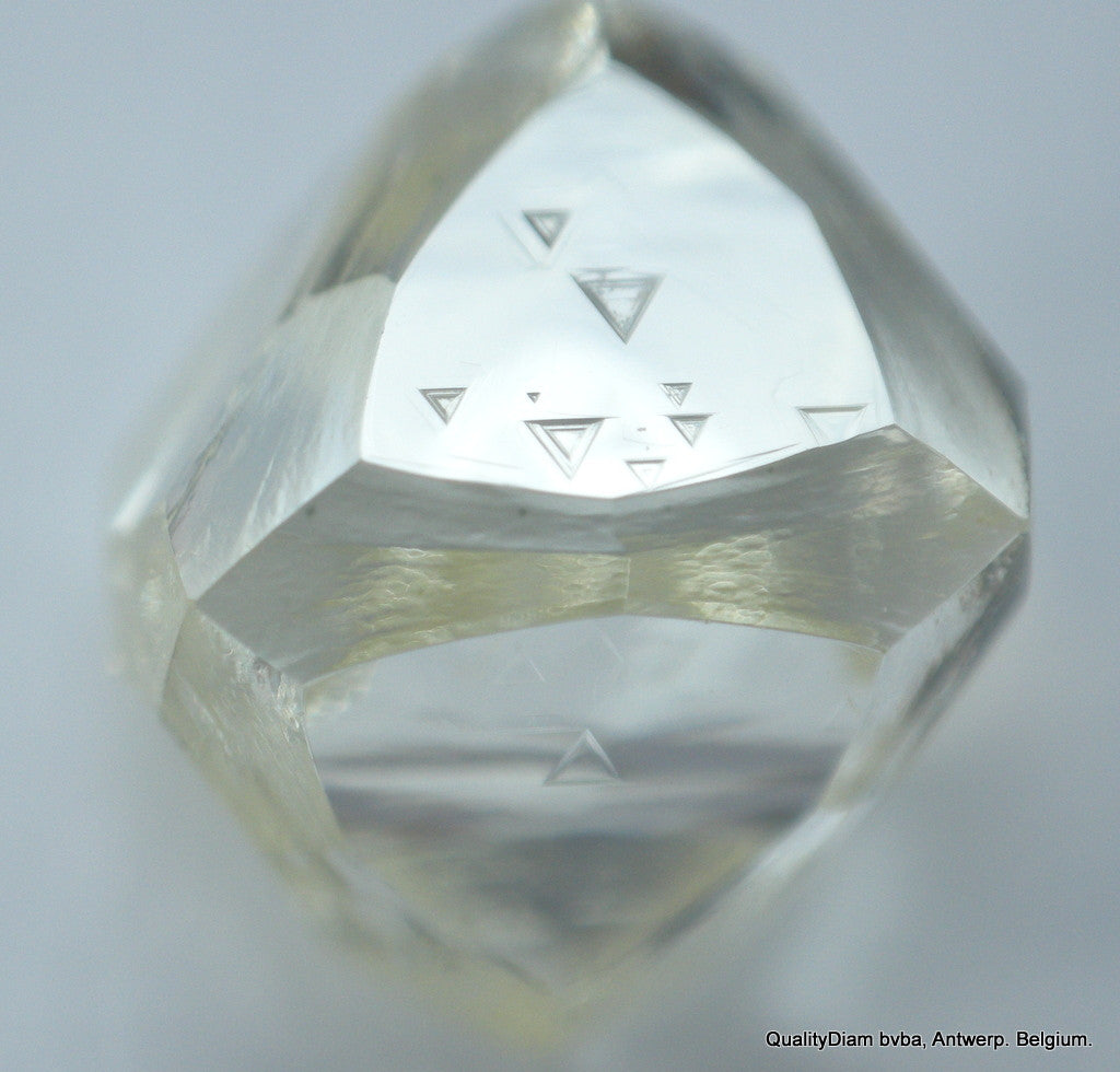 1.46 carat museum quality beautiful octahedron shape natural diamond