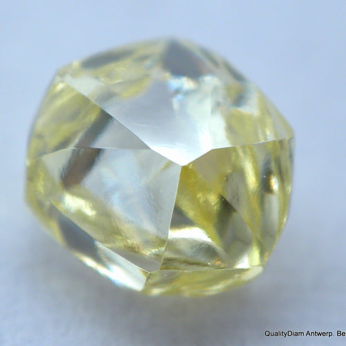 Flawless diamond out from a diamond mine. museum quality natural diamond