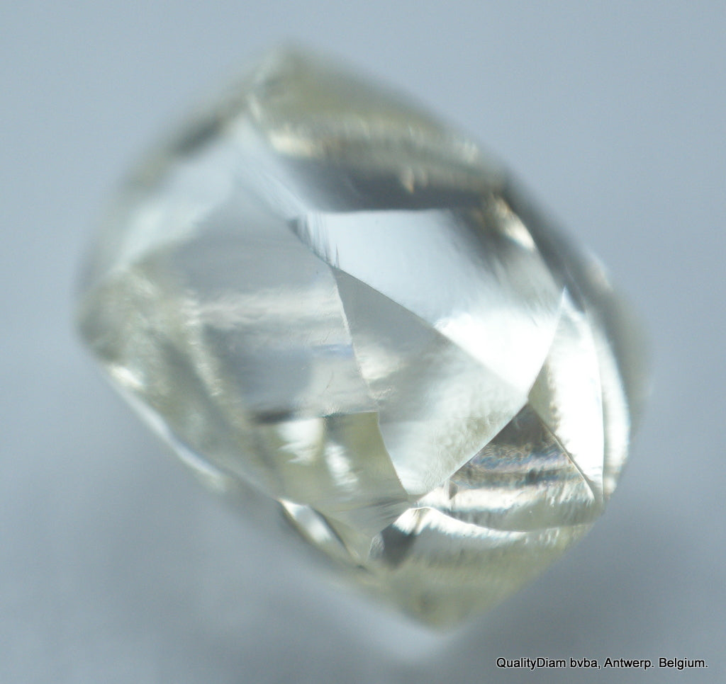 1.21 carat I VVS1 beautiful mackle ideal for rough diamond jewelry