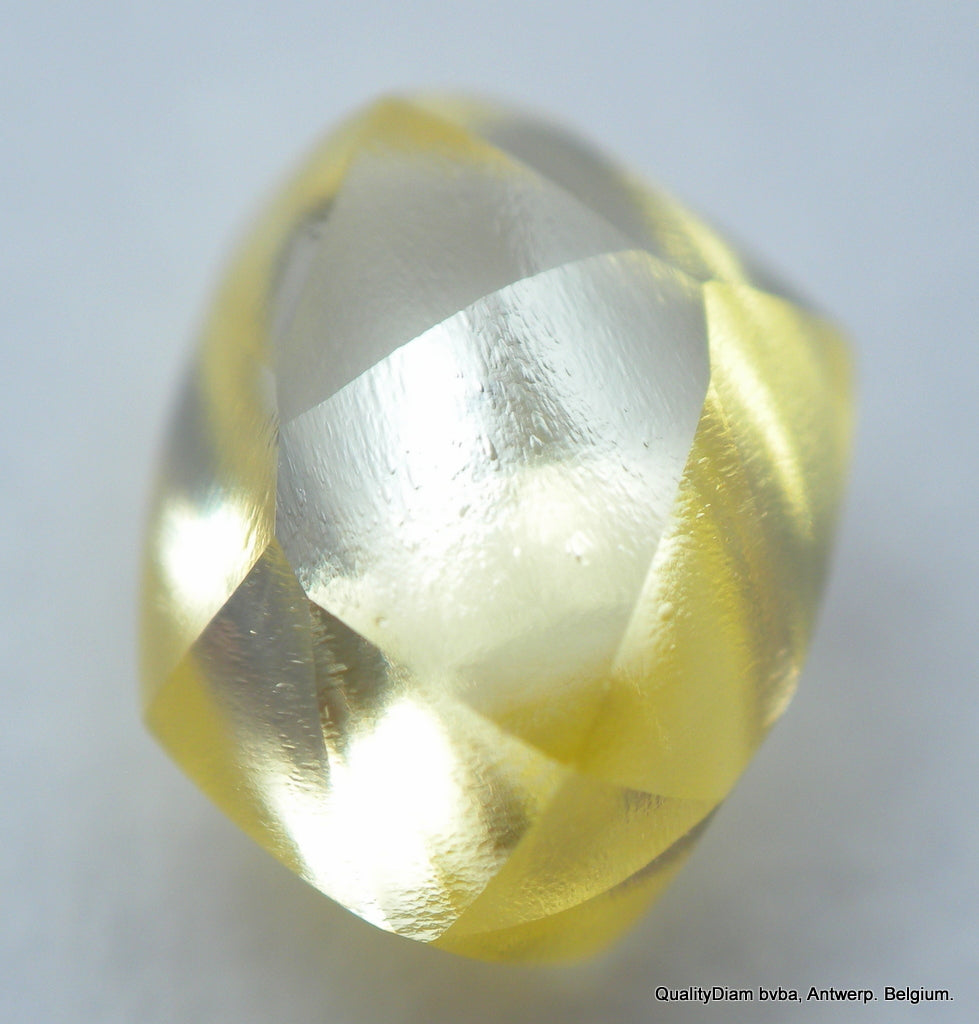 REAL IS RARE: VIVID FANCY YELLOW 0.74 CARAT RECENTLY MINED OUT NATURAL DIAMOND