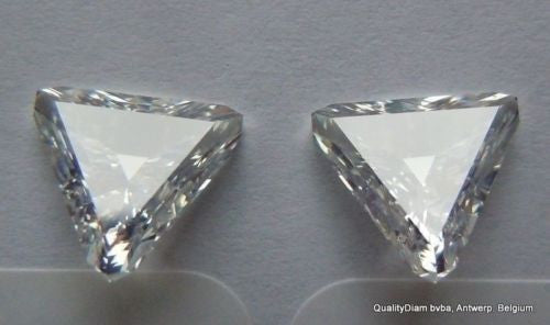 triangle shape diamonds