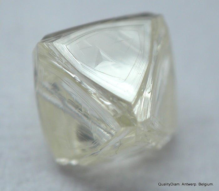 Clean diamond out from a diamond mine  beautiful, natural