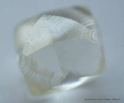 natural uncut diamond