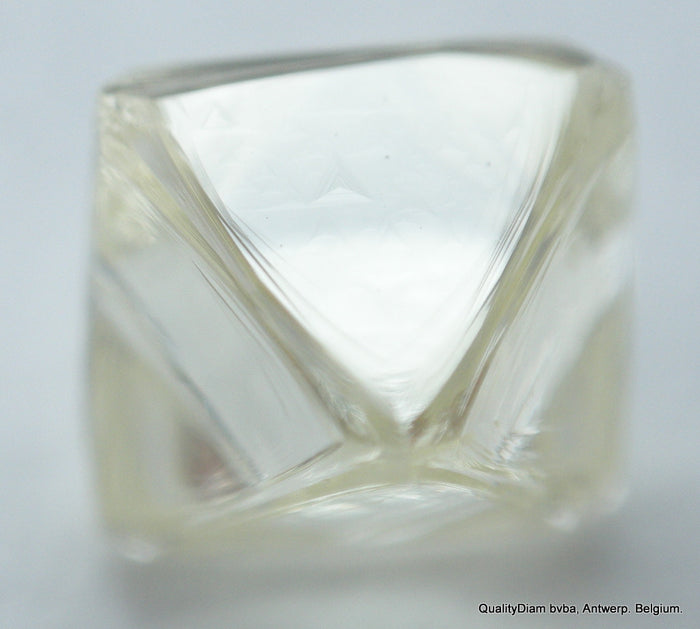 recently mined out natural diamond