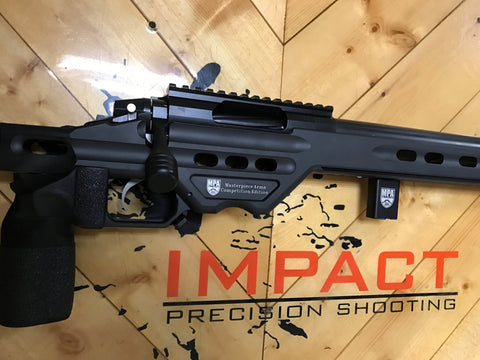 6.5 Creedmoor - Impact 737R/MPA Competition Chassis (Black)