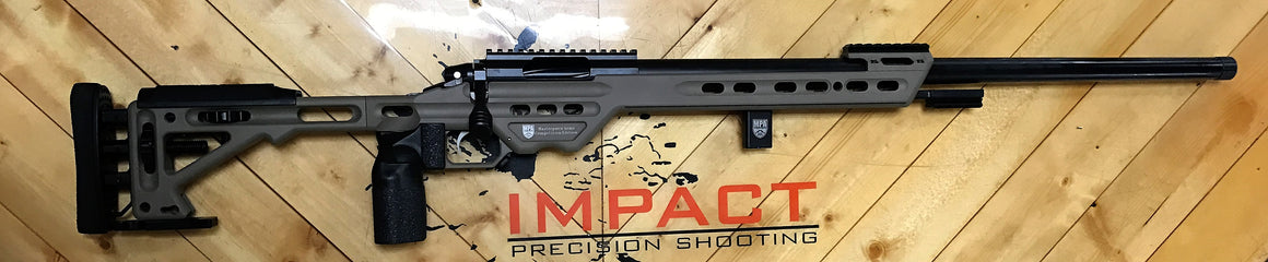 6mm Creedmoor  - Impact 737R/MPA BA Competition Chassis (Black)
