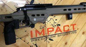 6mm Creedmoor  - Impact 737R/MPA BA Competition Chassis (Gunmetal)