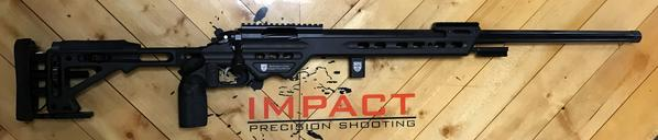 .308 Win. - Impact 737R/MPA BA Comp Chassis - Black