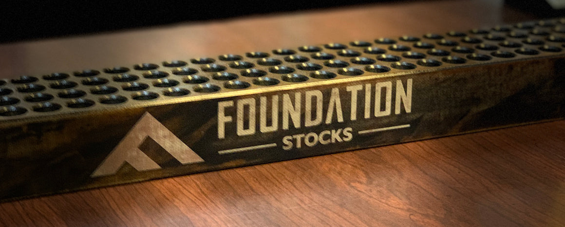 100 Round Reloading Block Foundation Stocks