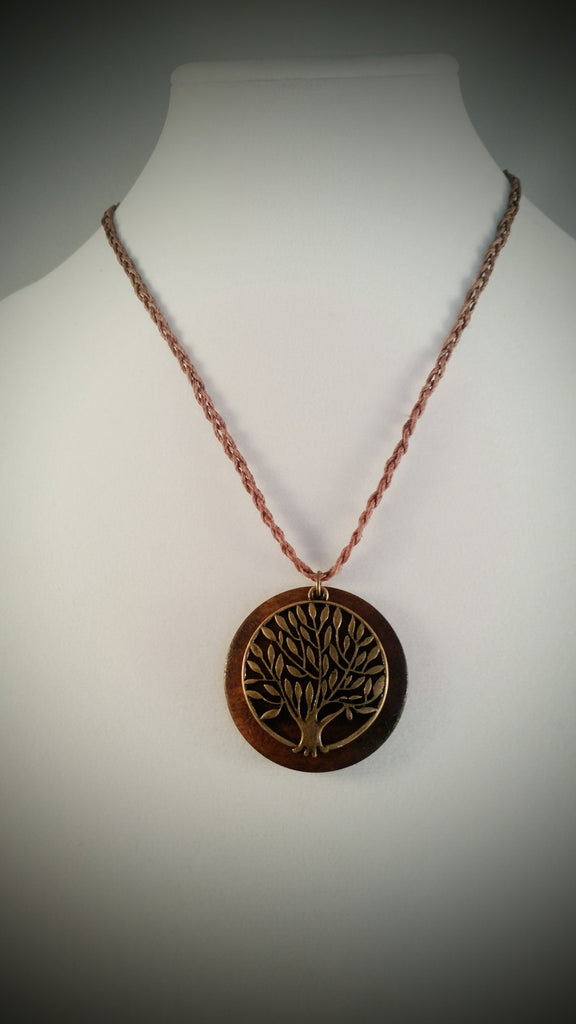 Natural Element Tree of Life Pendant - Creations by Tammy - 1