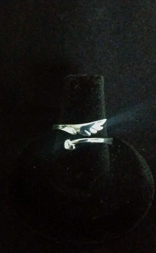 Sterling Silver Wrap Cupid Ring - Creations by Tammy - 1
