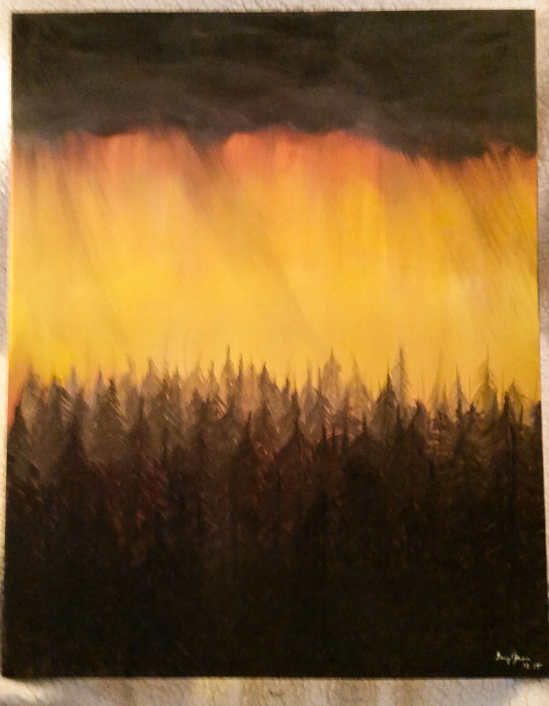 Storm in the Mountains - Creations by Tammy