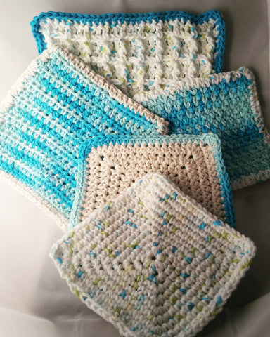 Tropical Cotton Kitchen Set