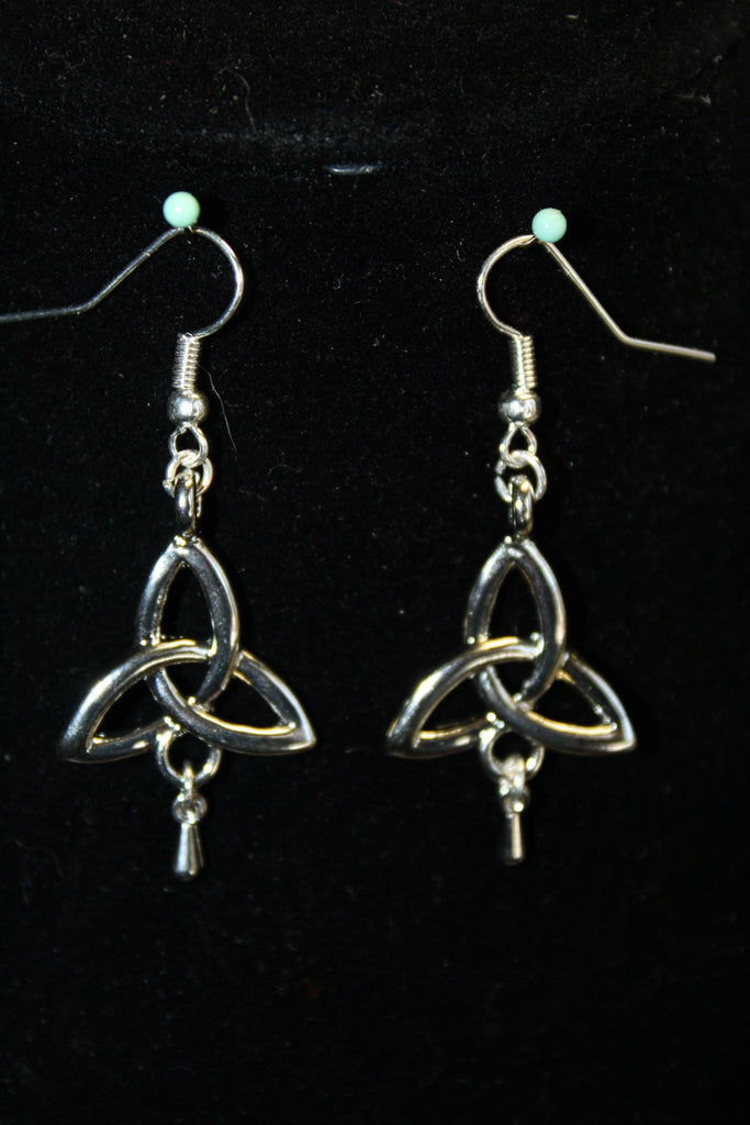 Triquetra Earrings - Creations by Tammy - 1