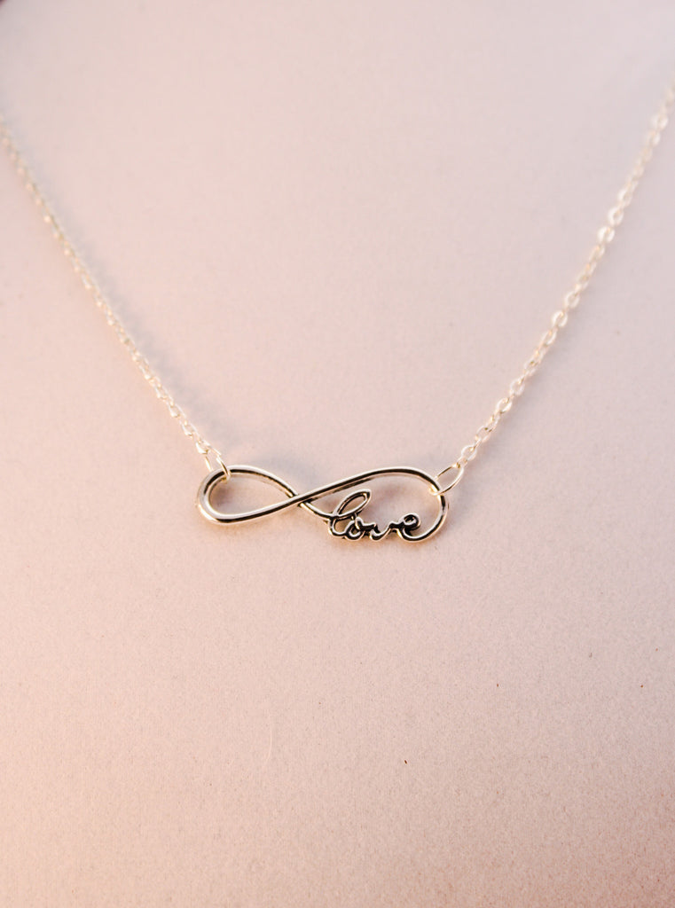 Infinite Love Necklace - Creations by Tammy - 1