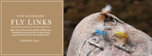 Cufflinks - Fly Fishing