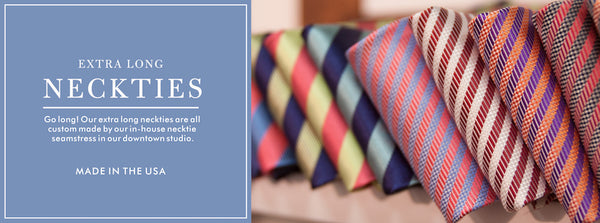 Ties - Extra Long