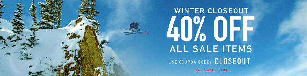Winter Closeout Sale