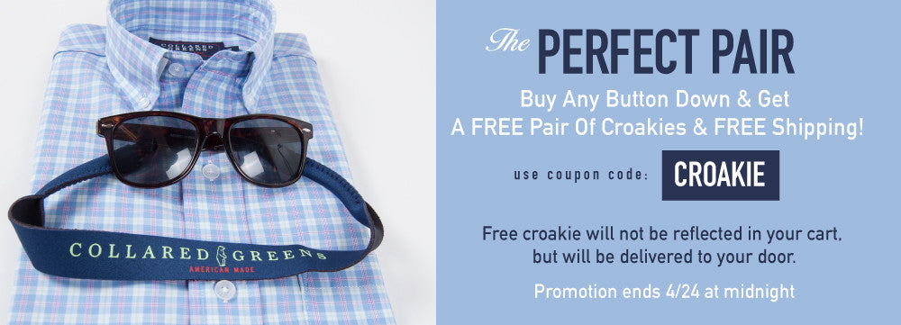 Free Croakies And Shipping
