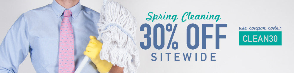 30% Off Spring Cleaning Flash Sale