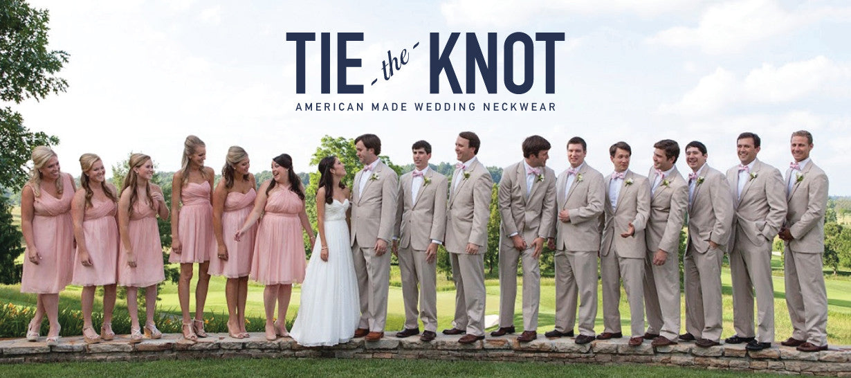 Tie The Knot American Made Wedding Ties & Bow Ties