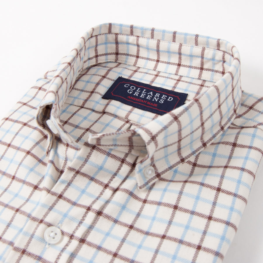The Hermitage Button Down Shirt - Collared Greens