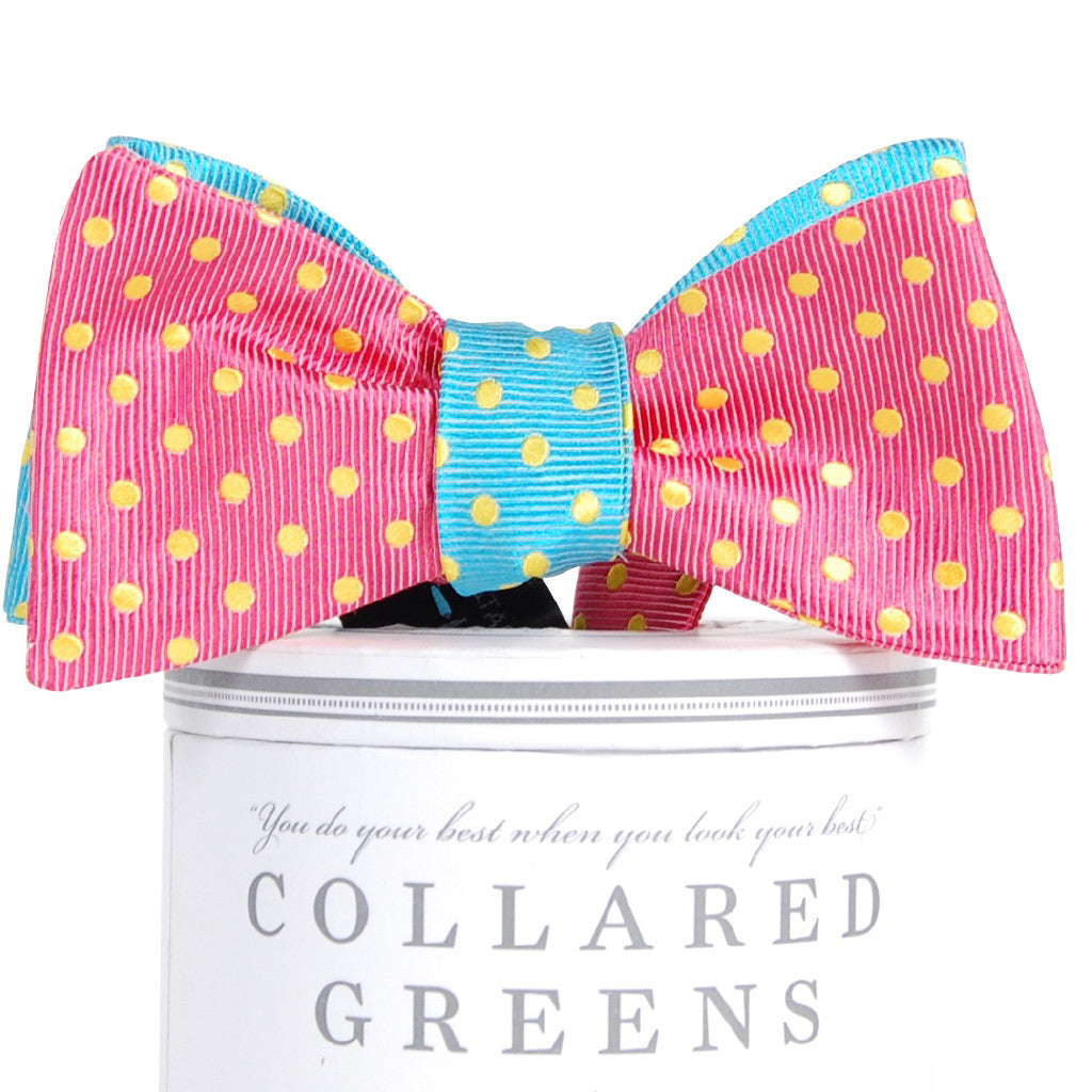 Cotton Candy Mixer Bow Tie