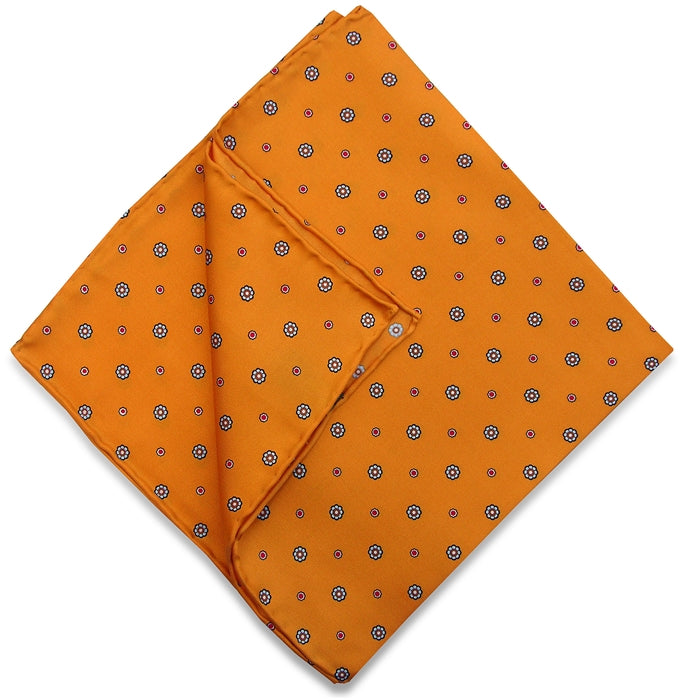 American Made Collared Greens Pocket Squares Yellow Made in the USA