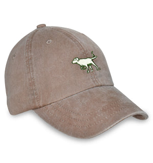 American Made Collared Greens Caps Brown Made in the USA
