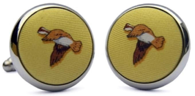 Open Season: Cufflinks - Yellow