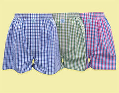 Gone Fishin': Boxers - Coral