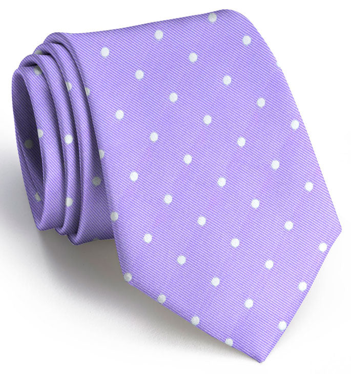 American Made Collared Greens Tie Violet Made in the USA