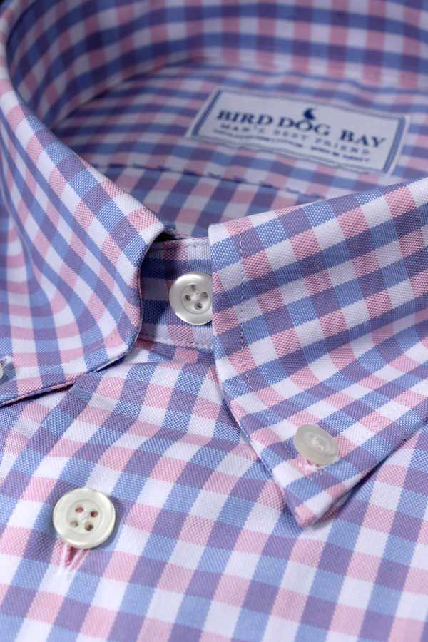 Barrington: Button Down Shirt - Pink