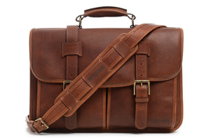 Garfield: Laptop Messenger - Leather