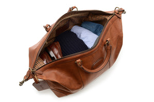 Twain: Duffel - Leather