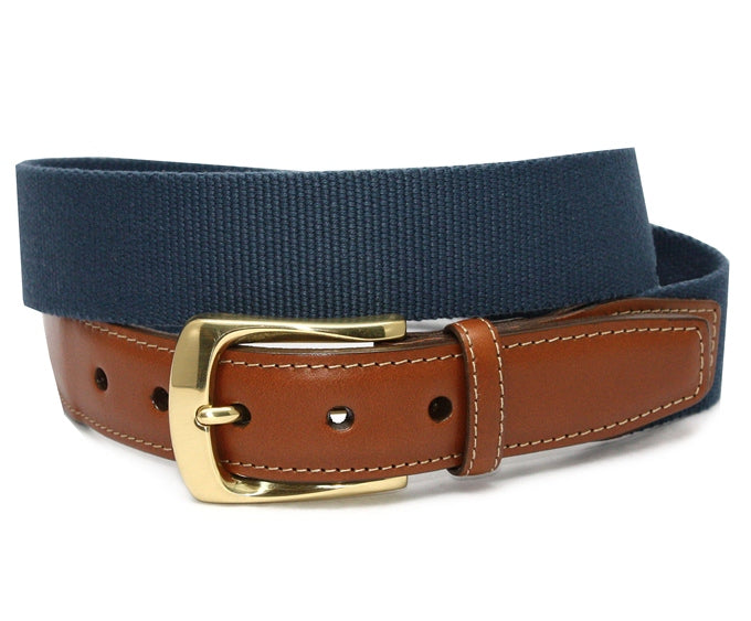 Surcingle: Belt - Denim Blue