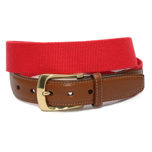 Surcingle: Belt - Red