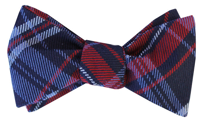 Wooly Wallace: Bow Tie - Red/Navy
