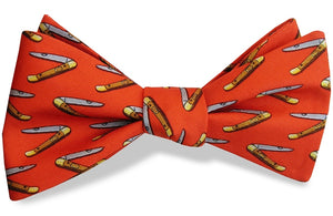 Mack the Knife: Bow Tie - Orange