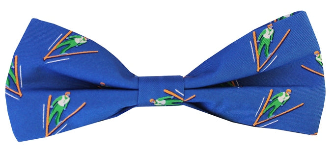 Ski Jump: Boys Bow Tie - Blue