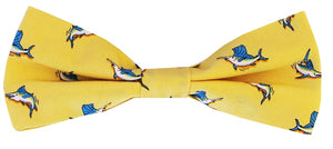 Small Bills: Boys Bow Tie - Yellow