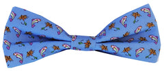 Gone Fishin': Boys Bow Tie - Blue