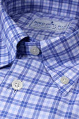 Aberdeen: Button Down Shirt - Blue/Blue