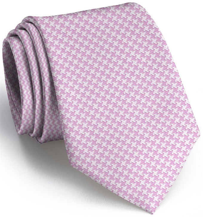 American Made Collared Greens Tie Light Pink Made in the USA