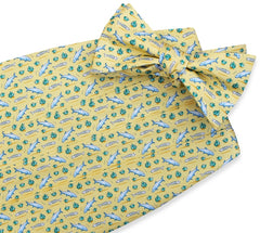 American Made Collared Greens Cummerbund Sets Yellow Made in the USA