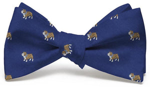 Bulldog Club: Bow Tie - Navy