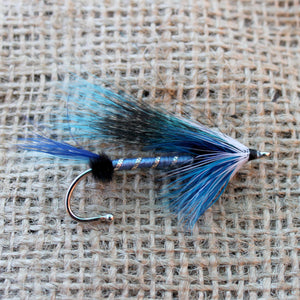 American Made Collared Greens Fly Fishing Lapel Pins Blue Made in the USA