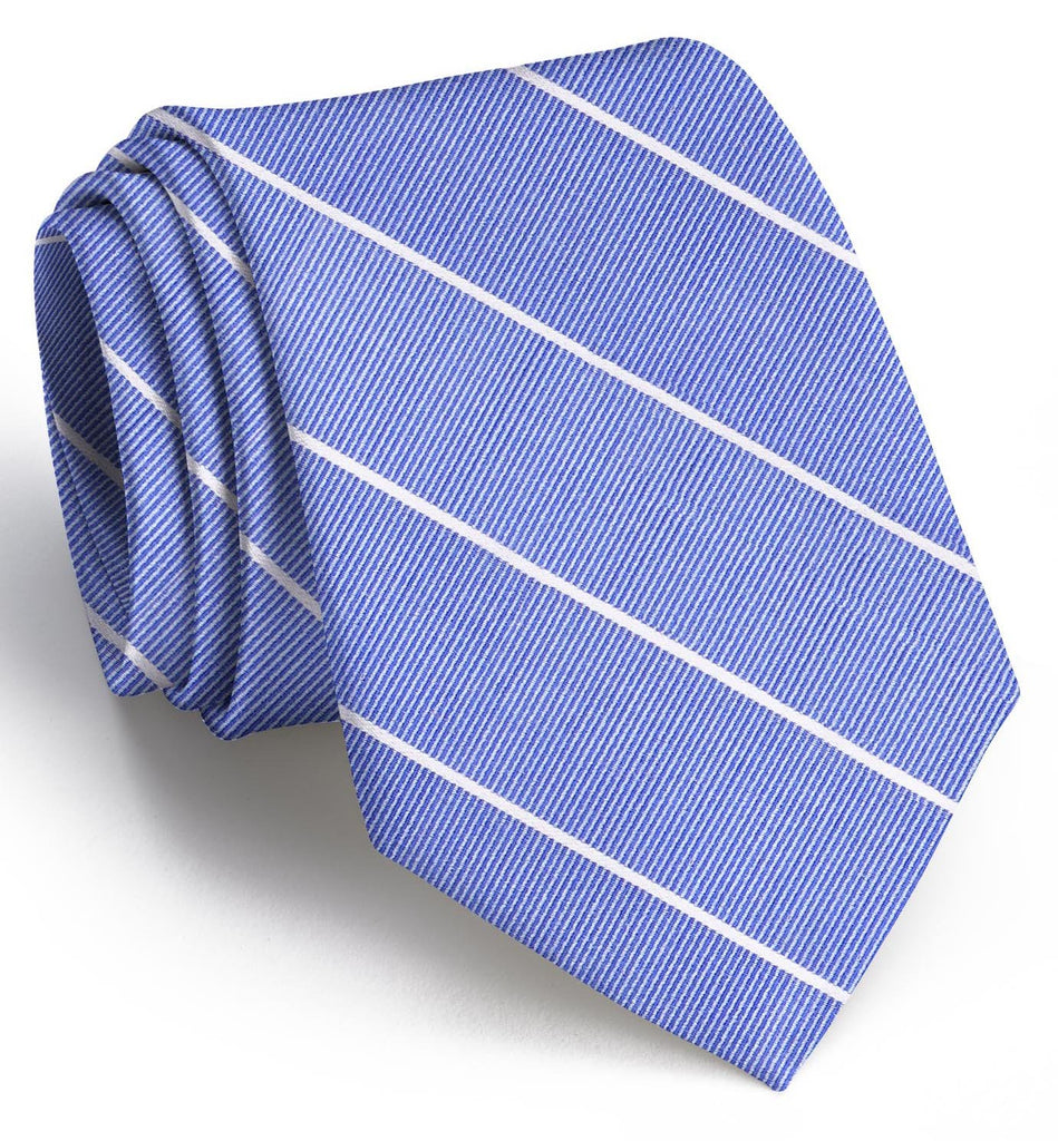 American Made Collared Greens Tie Blue Made in the USA