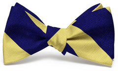 Clarkson Stripe: Bow Tie - Yellow